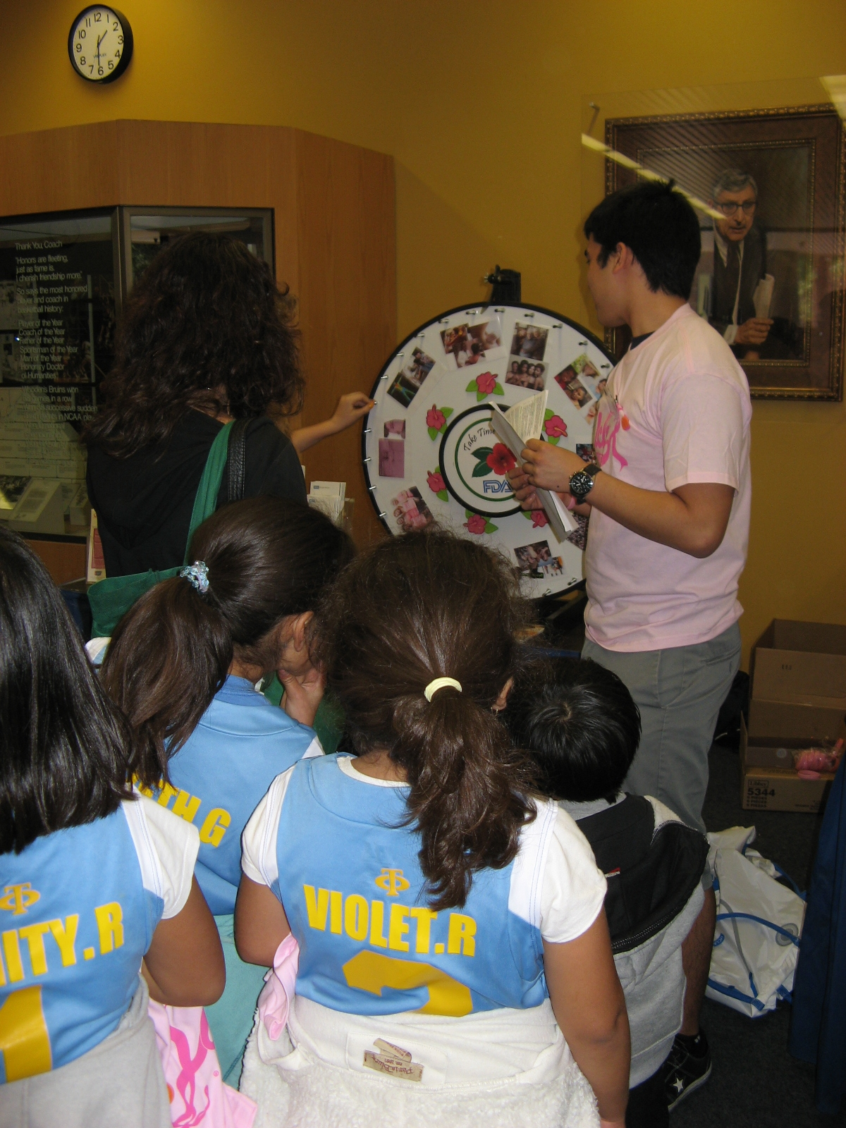 Education and Outreach programs at Iris Cantor-UCLA WHERC