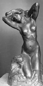 Toilette of Venus by Auguste Rodin